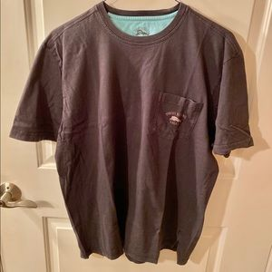 Tommy Bahama Relax Short Sleeve Black T-shirt Sz L